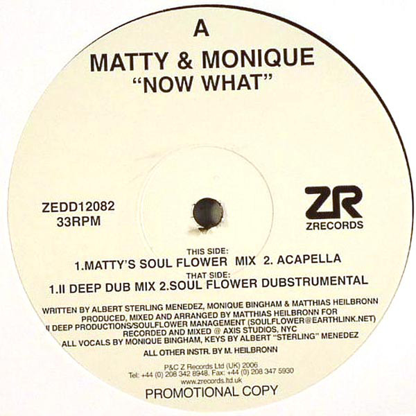 Matty & Monique - Now What