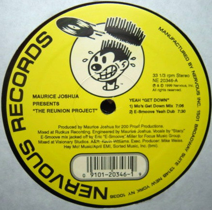 Maurice Joshua Presents The Reunion Project - Yeah Get Down