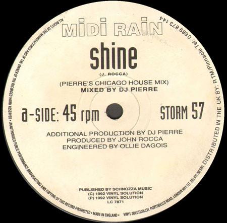 Midi Rain - Shine