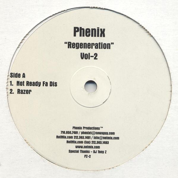 Phenix - Regeneration Vol-2