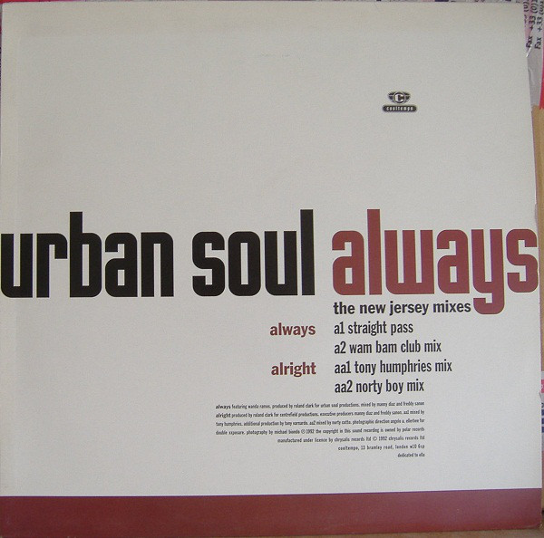 Urban Soul - Always (The New Jersey Mixes)