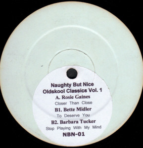 Various - Naughty But Nice Oldskool Classics Vol. 1
