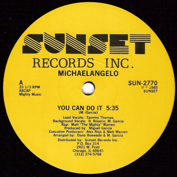 Michaelangelo - You Can Do It