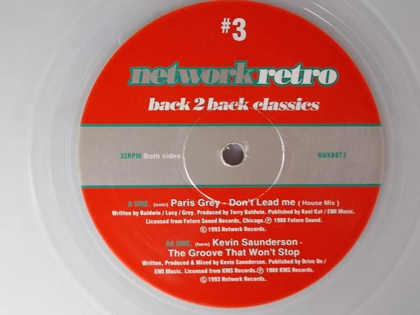 Paris Grey / Kevin Saunderson -  Network Retro #3 - Back 2 Back Classics