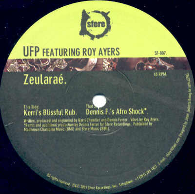 UFP Featuring Roy Ayers - Zeulara