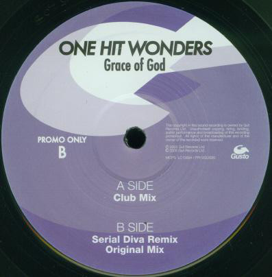 One Hit Wonders - Grace Of God