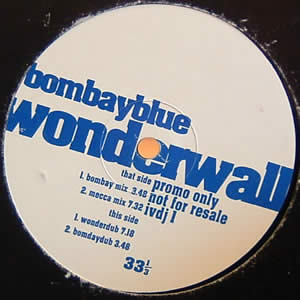 BOMBAYBLUE - WONDERWALL