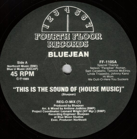 Bluejean - This Is The Sound Of (House Music)