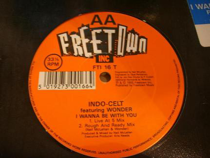 Indo-Celt - Close To You / I Wanna Be With You