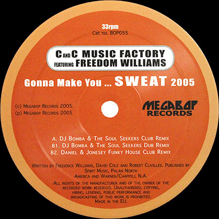 C And C Music Factory feat. Freedom Williams -  Gonna Make You... Sweat 2005