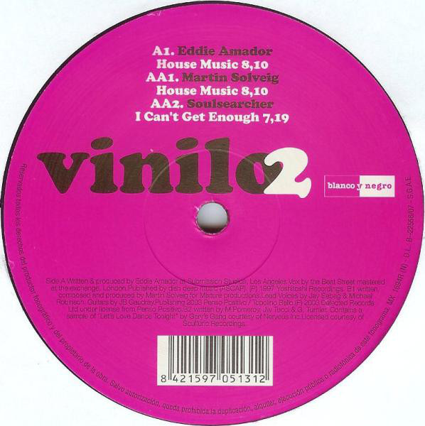 Various - I Love House (Vinilo 2)