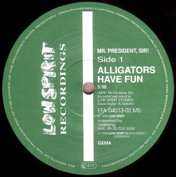 Mr. President, Sir! - Alligators Have Fun