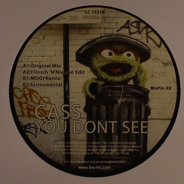 Cass - You Don?t See