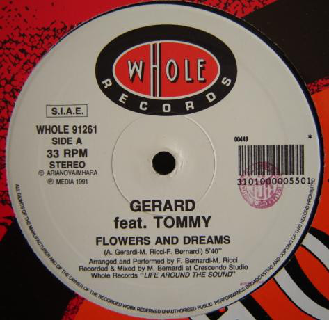 Gerard Feat. Tommy - Flowers And Dreams