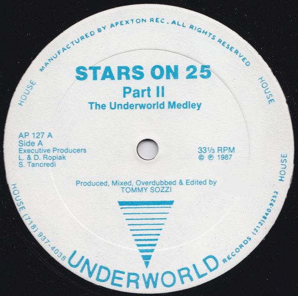 Various - Stars On 25 Part II - The Underworld Medley