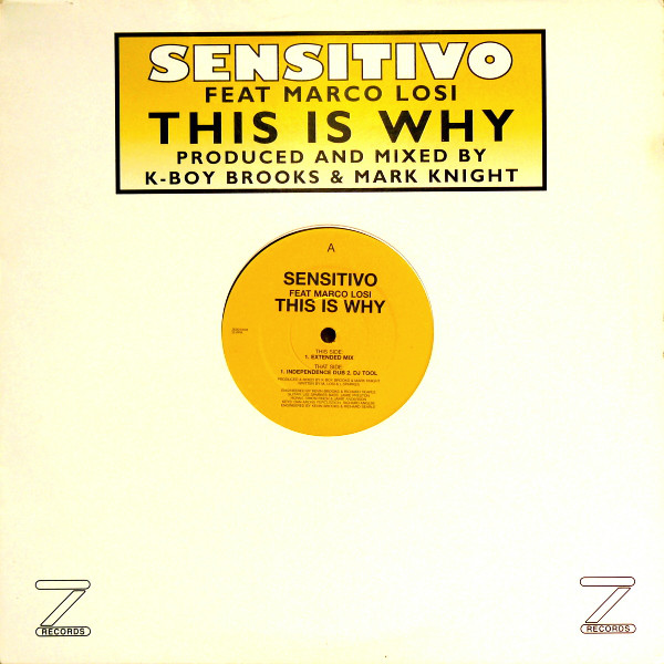 Sensitivo Feat. Marco Losi - This Is Why