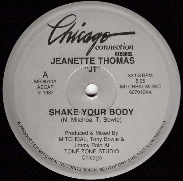 Jeanette Thomas - Shake Your Body