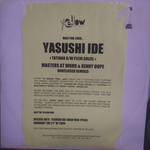 Yasushi Ide Presents Lonesome Echo Strings - Meets The World