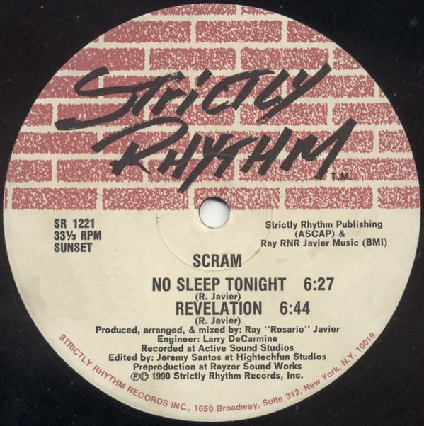 Scram - No Sleep Tonight / Revelation