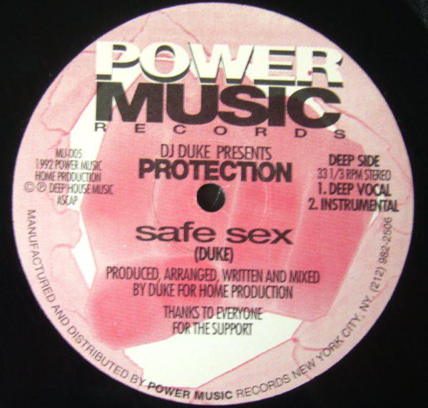 DJ Duke Presents Protection - Safe Sex