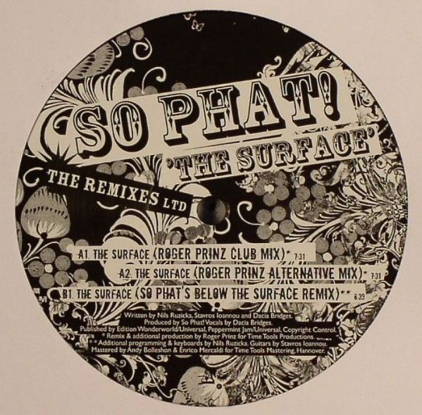 So Phat! - The Surface (The Remixes Ltd)