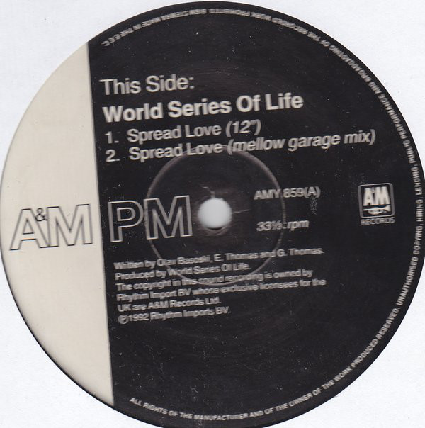 World Series Of Life - Spread Love (Remixes)