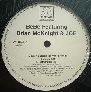 BeBe Featuring Brian McKnight & JOE -  Coming Back Home