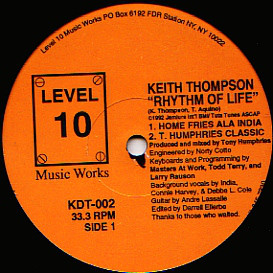 Keith Thompson - Rhythm Of Life