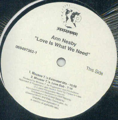 Ann Nesby - Love Is What We Need