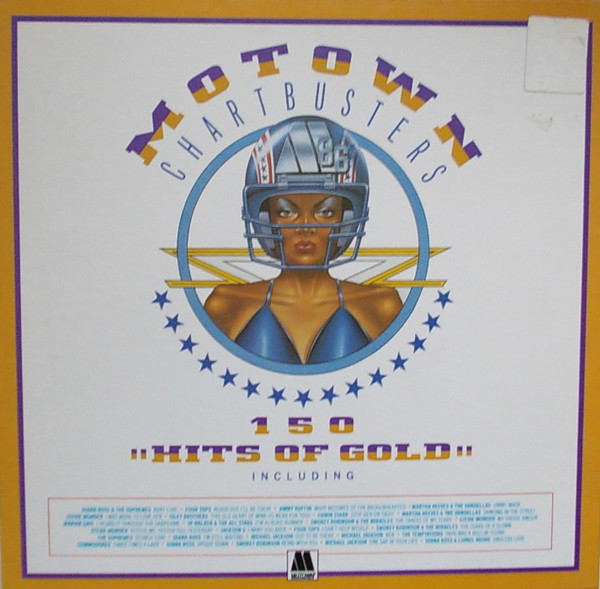 Various - Motown Chartbusters: 150 Hits Of Gold