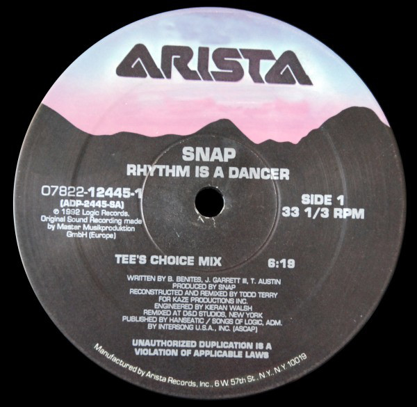 Snap - Rhythm Is A Dancer