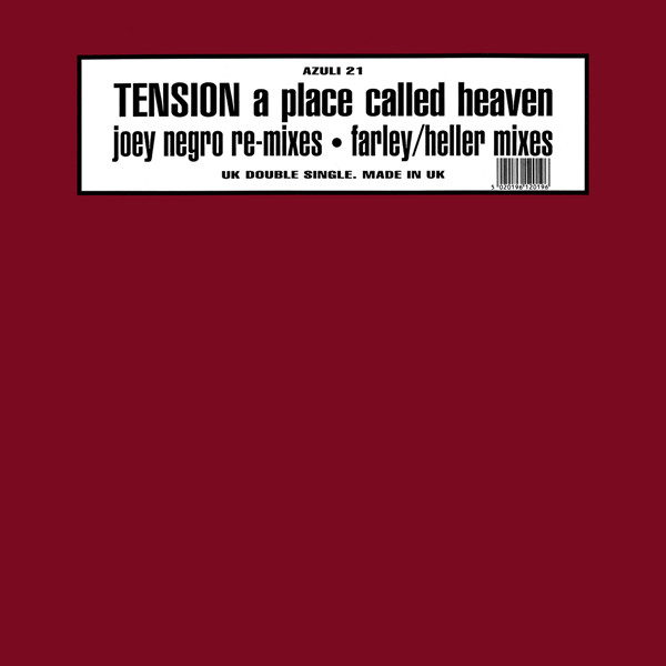Tension -  A Place Called Heaven (Joey Negro Re-Mixes)
