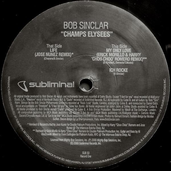 Bob Sinclar - Champs Elys?es