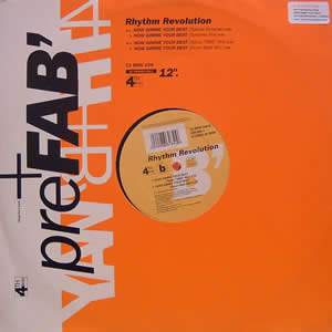 RHYTHM REVOLUTION - NOW GIMME YOUR BEAT