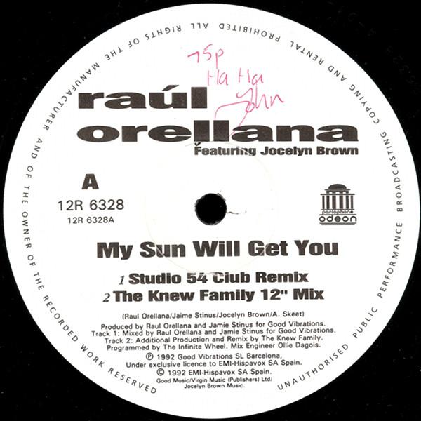 Ra?l Orellana - My Sun Will Get You