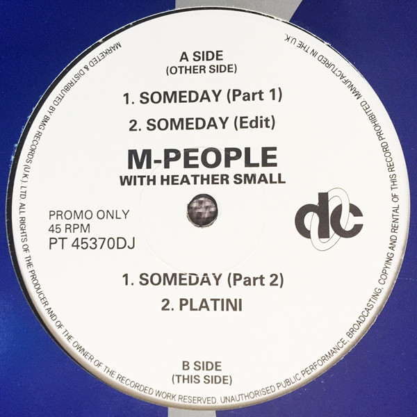 M People With Heather Small - Someday