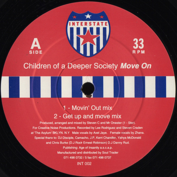 Children Of A Deeper Society - Move On