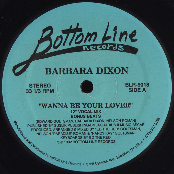 Barbara Dixon - Wanna Be Your Lover