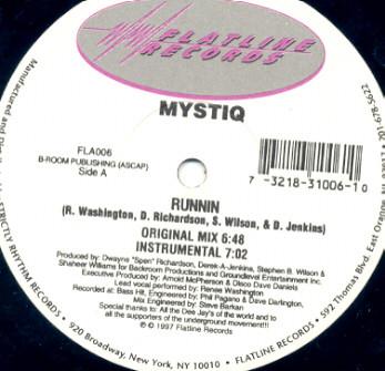 Mystiq - Runnin