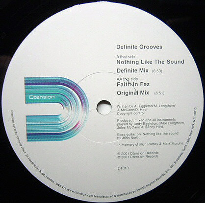 Definite Grooves - Nothing Like The Sound