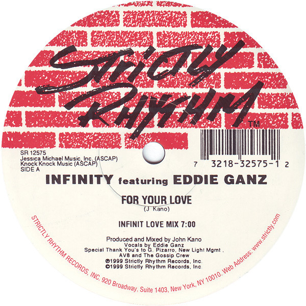 Infinity Featuring Eddie Ganz - For Your Love