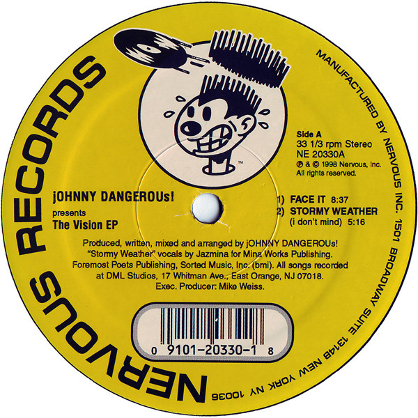 Johnny Dangerous - The Vision EP