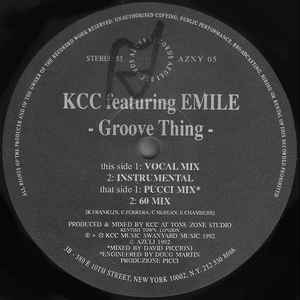 KCC Featuring Emile - Groove Thing