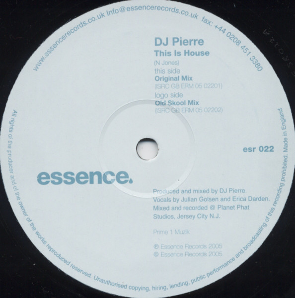 DJ Pierre - This Is House