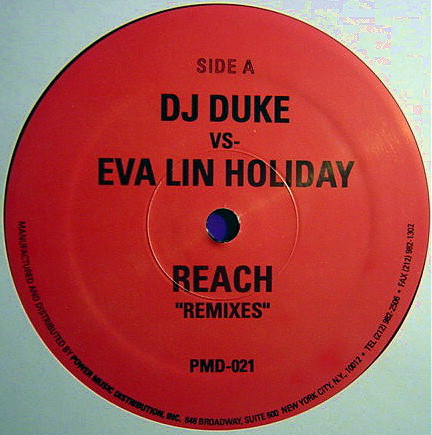 Eva Lin Holiday, DJ Duke, Mark The 909 King - Reach (Remixes)