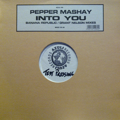 Pepper Mashay - Into You (Banana Republic / Grant Nelson Mixes