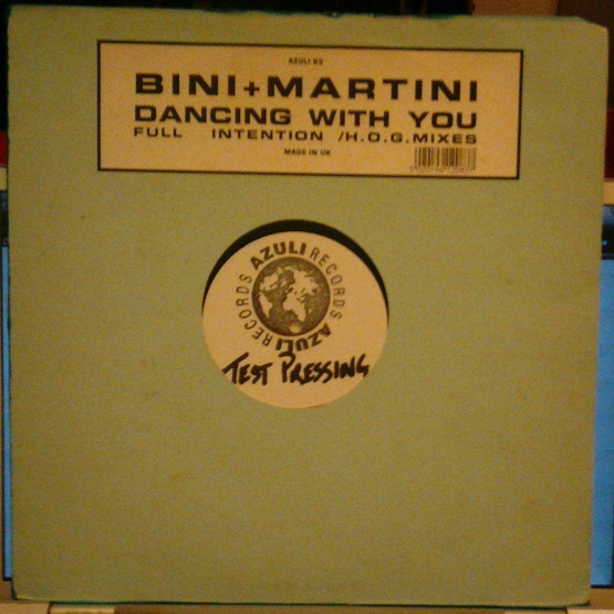 Bini + Martini - Dancing With You (Full Intention / H.O.G. Mixes)