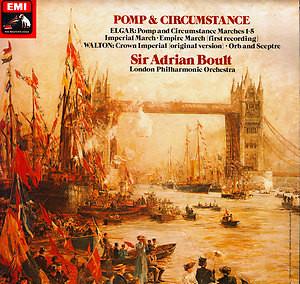 Elgar, Walton, London Phil - Sir Adrian Boult - Pomp & Circumstance (SQ Quadraphonic)