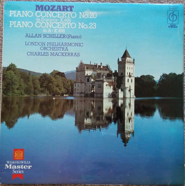 Mozart, Allan Schiller, London Phil, Mackerras - Piano Concertos Nos. 20 & 23