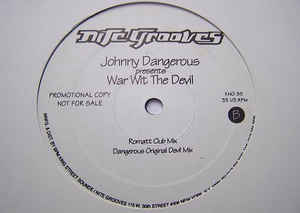 Johnny Dangerous - War With The Devil